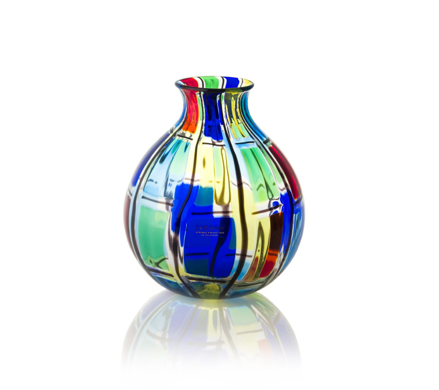 a glass balloon carnevale design ballarin artist