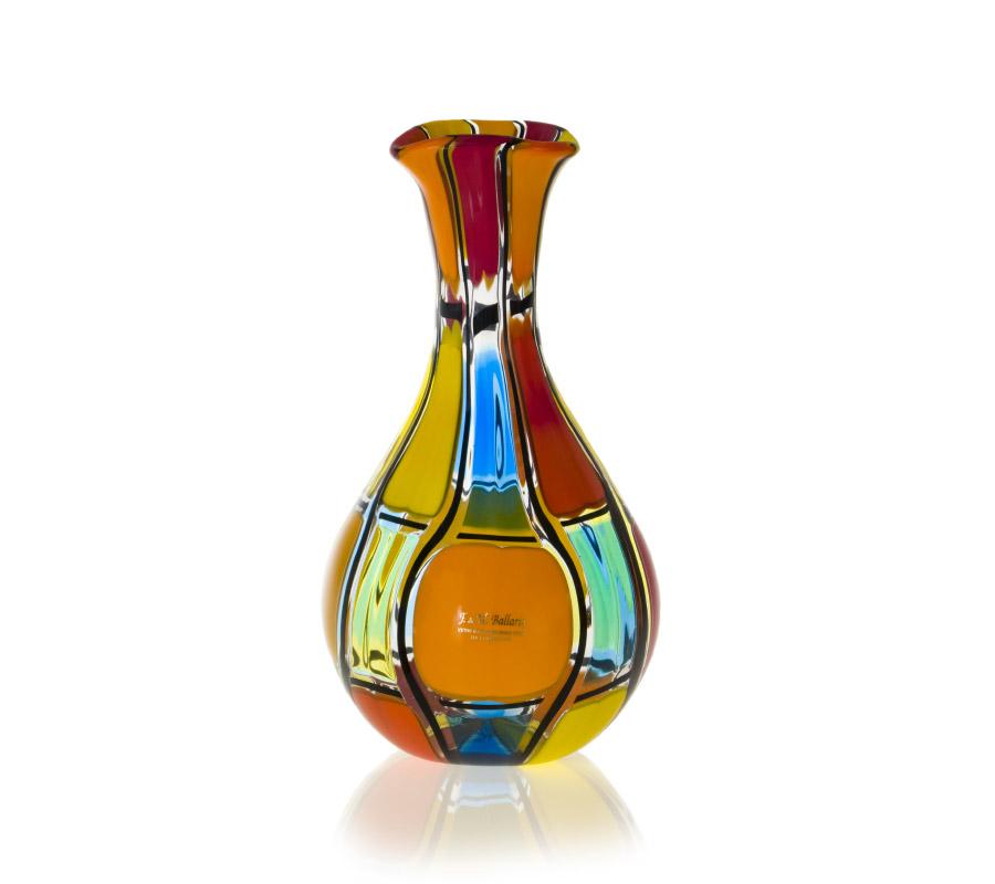 a glass carafe by angelo ballarin