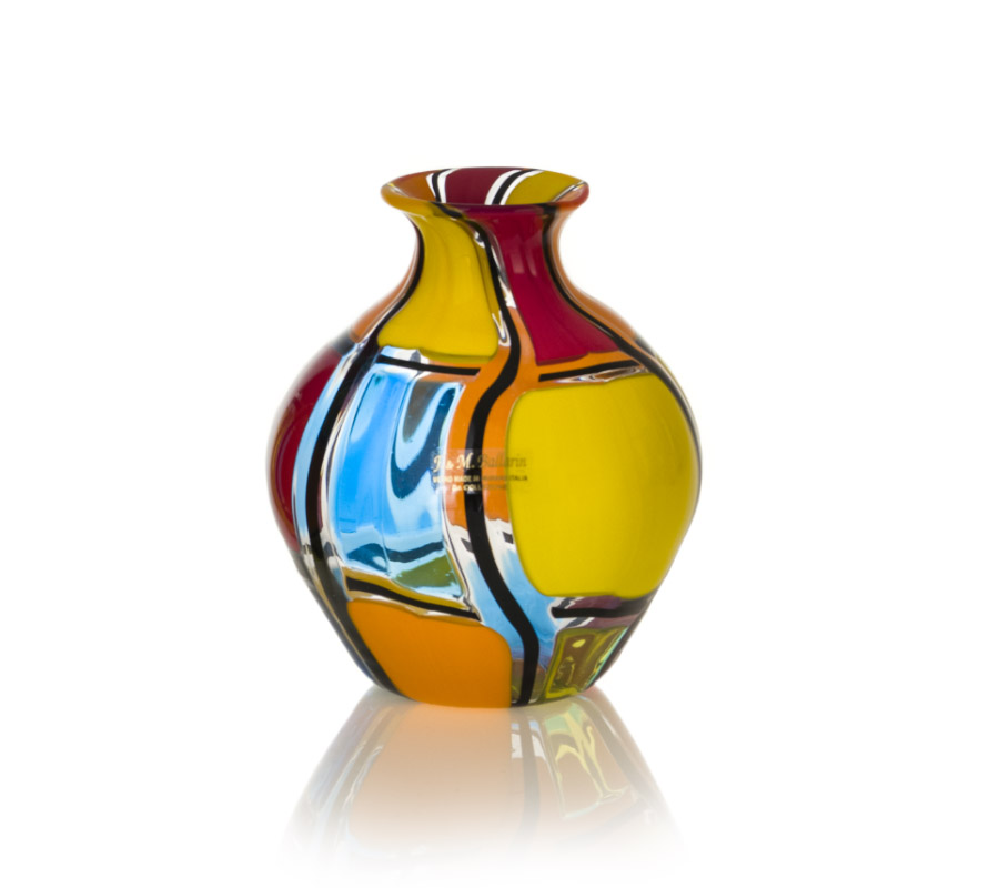 modern vase by angelo ballarin murano